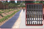 Pultruded Fiberglass Grating Safeguards Draining Trench