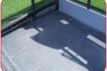 Fiberglass Decking a Problem Solver for Football Fan Party Deck