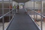 Fiberglass Decking a Problem Solver for Temporary Walkways