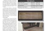 Pultruded Vinyl Ester Grating Durability Study