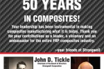 John Tickle Makes Good for Five Decades
