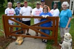 Strongwell Employees Build a Fence around Caring