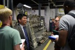 Business Students Learn the Ins and Outs of Manufacturing Processes