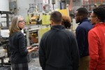 MBA Students Witness Manufacturing Impact