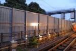 Fiberglass Grating as Screened Fences