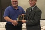 Joe Spanovich Receives Appreciation Award from ASTM