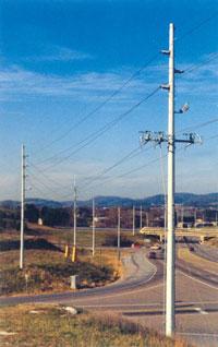 Fiberglass Power Poles | Round Pole | Supplier