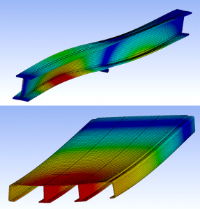 Composites analysis capabilities including Finite Element and Classical Laminated Plate Theory using in-house generated lamina data.