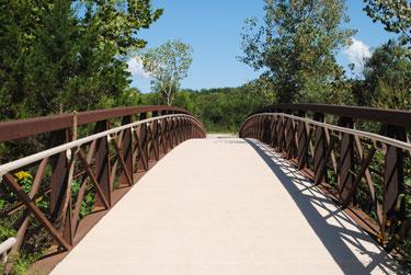 Frog Hollow Nature Trail Bridge