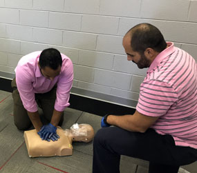 cpr aed first aid