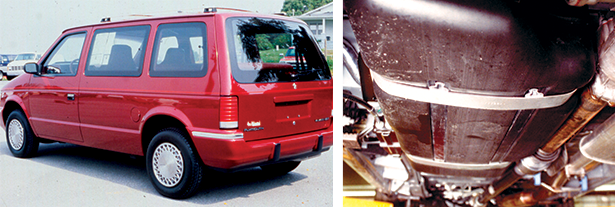 0119-Minivan and Fuel Tank