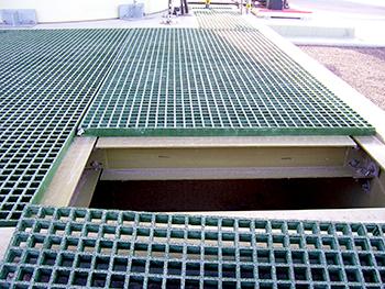 0704-Lift Station Walking Surface Detail
