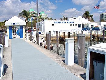 0828-Dinner Key Marina Piers Detail