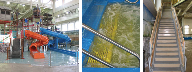 0829-Waterpark of America Platforms and Stair Towers