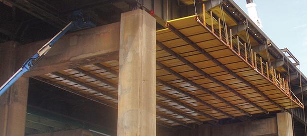 1201-Bridge Scaffolding