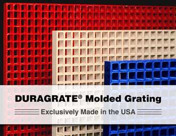 molded grating